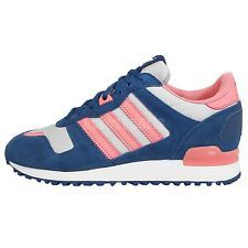Adidas Originals ZX 700 W Blue Pink Grey Womens Sneakers ...