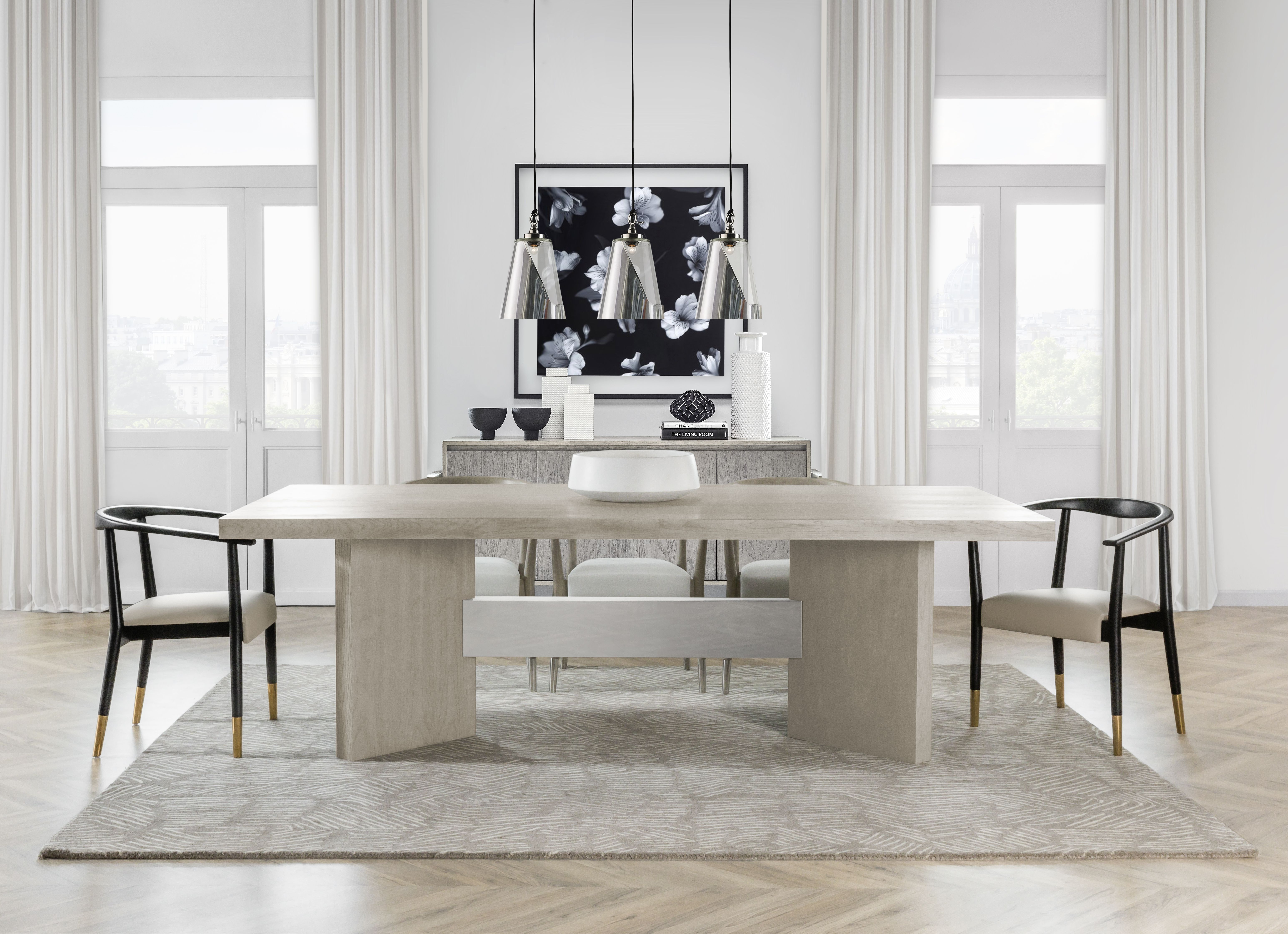 Calvin Dining By Kelly Hoppen Classic Dining Room Furniture Minimalist Dining Room Dining Room Style #taupe #living #room #set