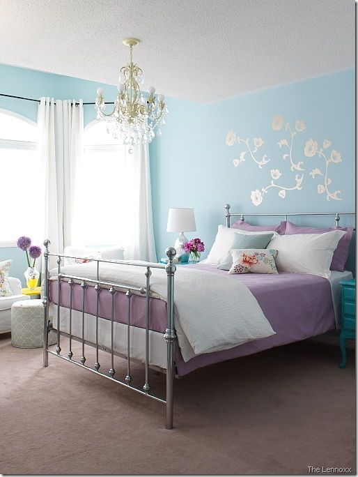 Looking For Purple Bedroom Ideas It S Good But A Will Be Better When Combined With Other Colors White Blue And So On As Described Here