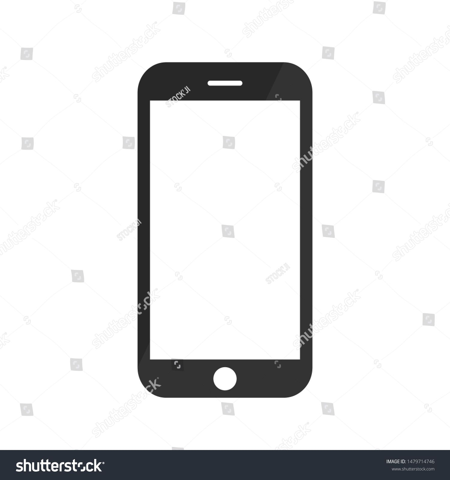 Smartphone Mobile Phone Iphone On White Background Transparent Black And White Mobile Phone Icon Vector Ad Ad Iphone Whit Iphone Phone Avenger Artwork