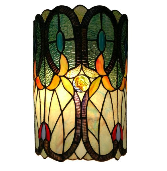 Lamparas En Vitral Estilo Tiffany Clic