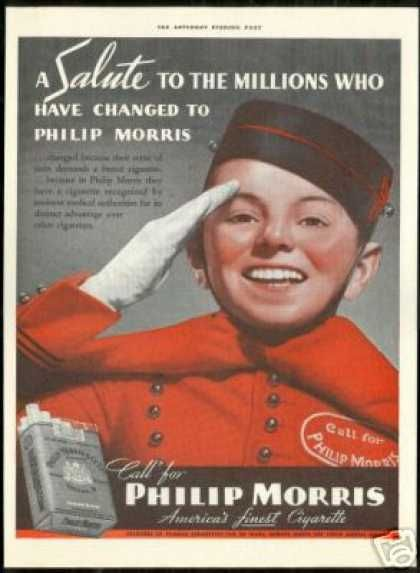 The World S First Living Trademark The Philip Morris
