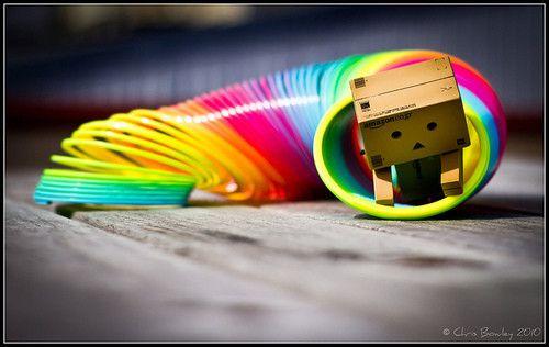 Danbo Rainbow Slinky