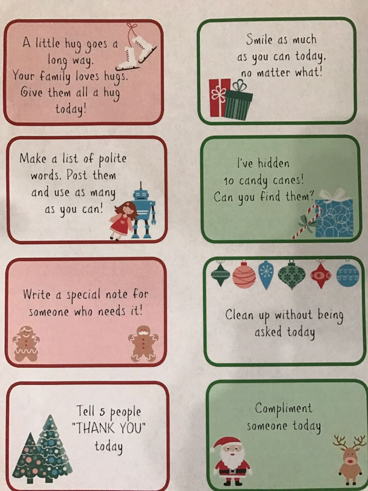 Keep In The Classroom For Two Weeks Each Day A New Instruction From The Elf Is Posted