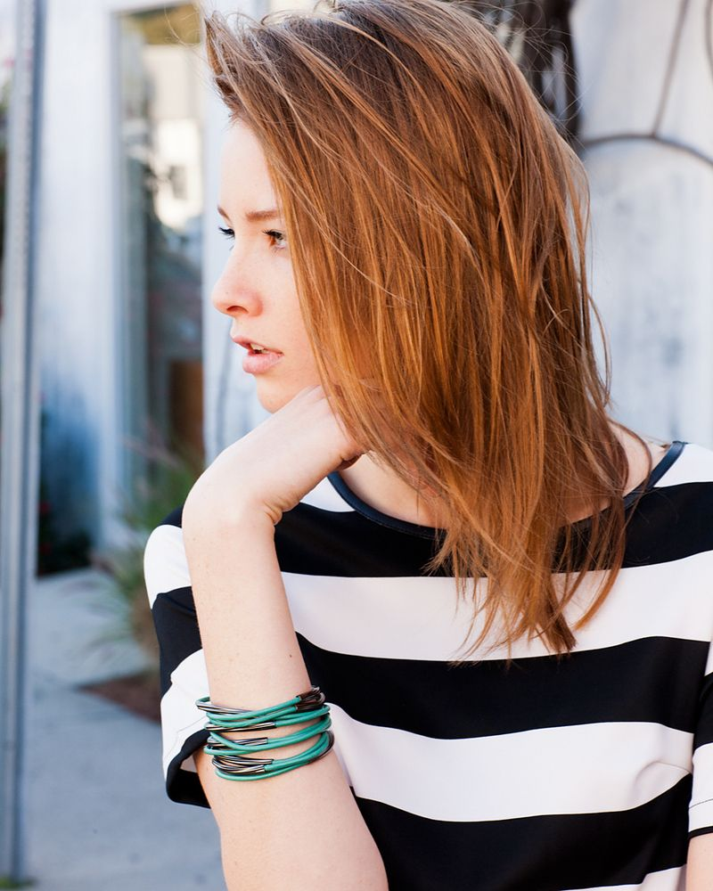 Hair hair pinterest bangle hair coloring and green leather