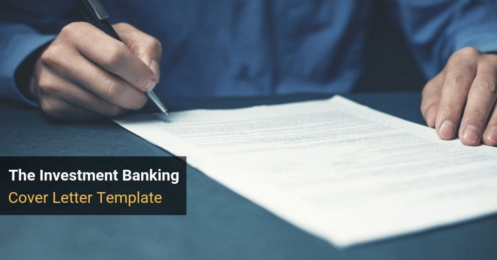 31+ Investment banking cover letter wso inspirations