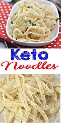 BEST Keto Noodles! Low Carb Pasta Noodle Idea – Homemade – Quick & Easy Ketogenic Diet Recipe – Completely Keto Friendly – New Ideas