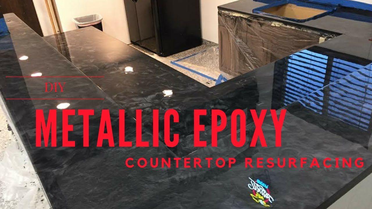 Metallic Epoxy Diy Customer Installs Of Our Countertop Resurfacing