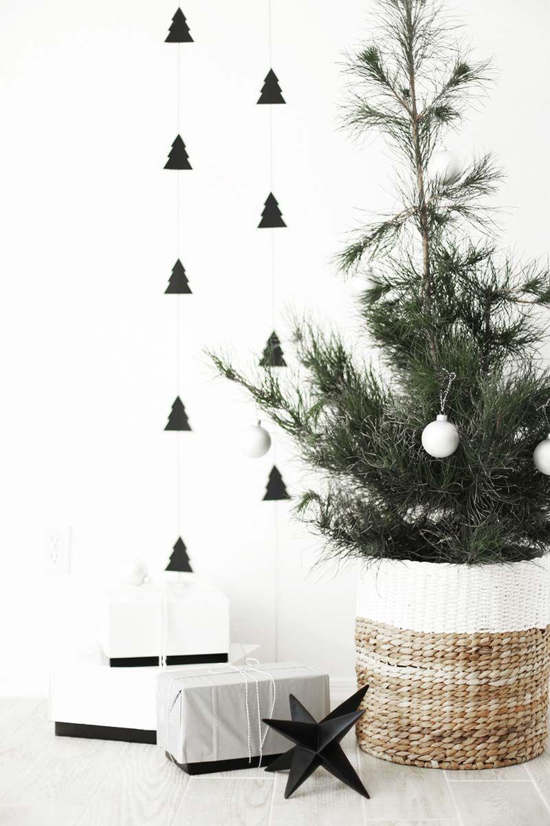 20x Kerstdecoratie Ideeen Homease Diy Christmas Wall Christmas Wall Decor Diy Christmas Tree Garland