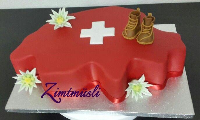 Switzerland Cake / Schweiz Torte / Kuchen Torten, Kuchen