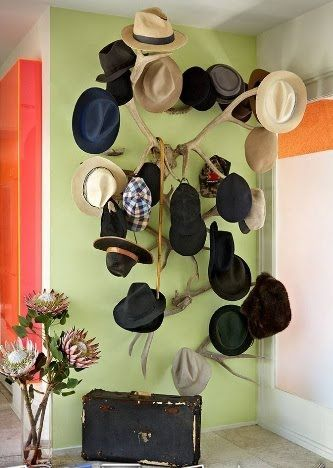 50+ Easy and Simple DIY Hat Rack Ideas for Your Sweet Home & 50+ Easy and Simple DIY Hat Rack Ideas for Your Sweet Home   Diy hat ...
