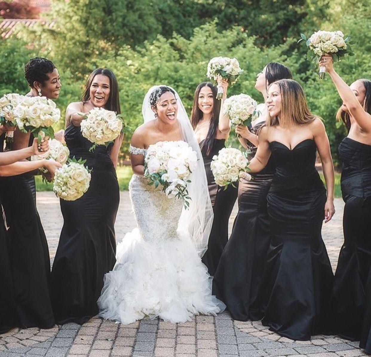 Wedding dresses for black girls  Pin by Michelle Jackson on Wedding Inspiration  Pinterest  Black