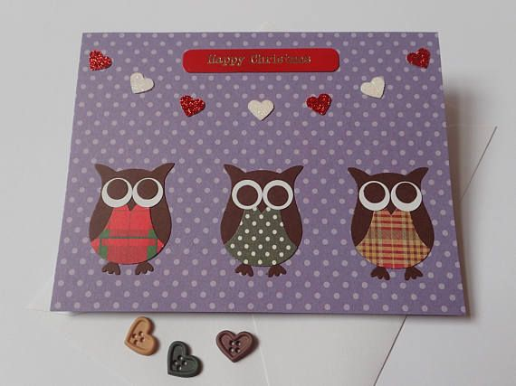 Pin by mandy richardson on handmade christmas cards pinterest owl card handmade christmas cards christmas cookies handmade greetings white envelopes royal mail greeting cards dads messages m4hsunfo