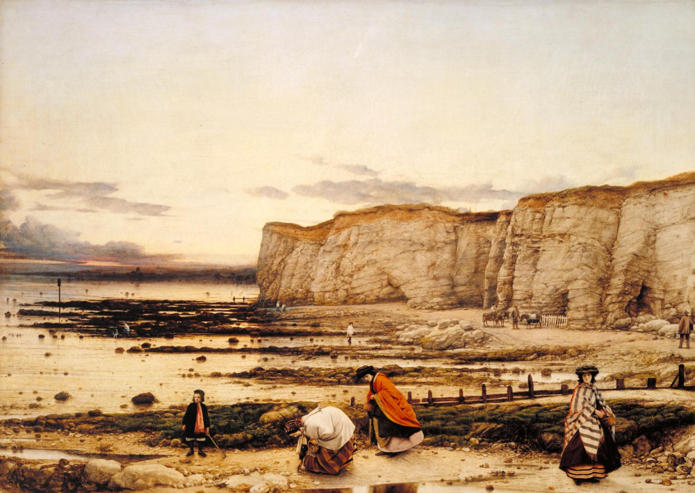 'Pegwell Bay, Kent - a Recollection of October 5th 1858 ...