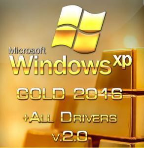 Windows XP Gold SP3 2016 + Drivers v2 0 ISO Download