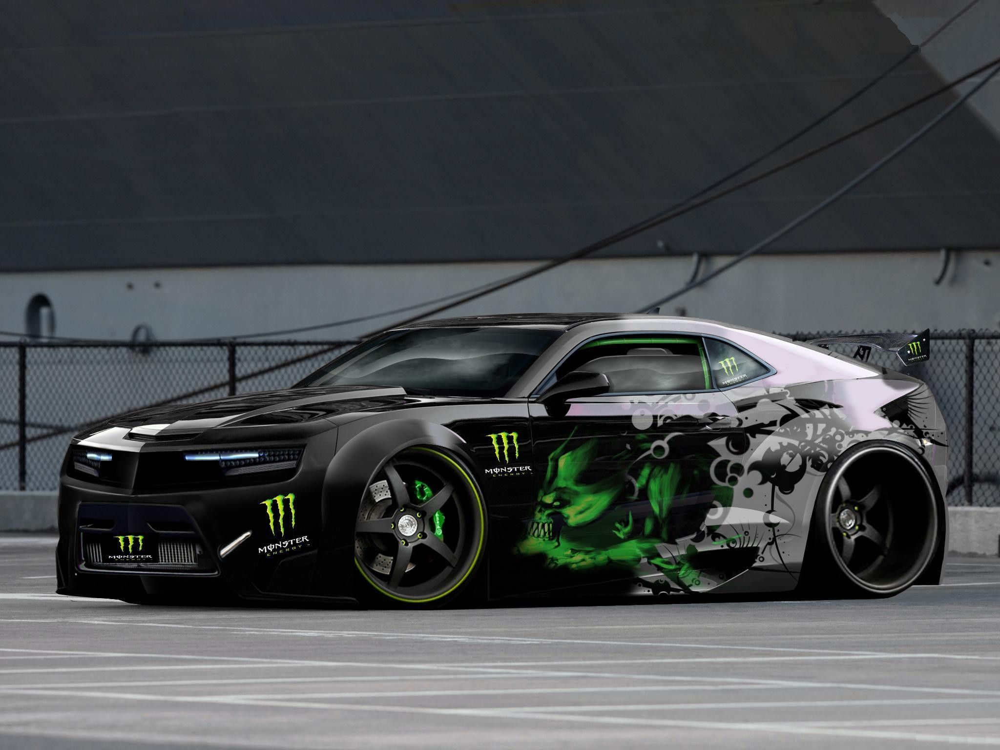 A Monster Of A Car Wrapped Modified Chevy Need For Speed