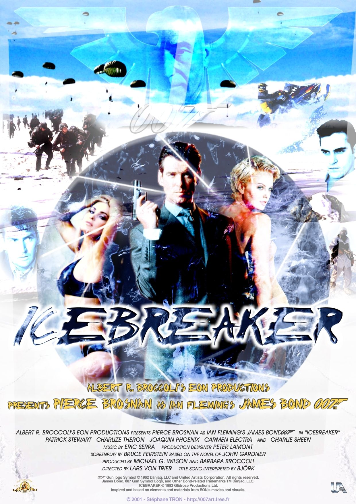 John Gardner Icebreaker Poster 1 James Bond Movies Bond