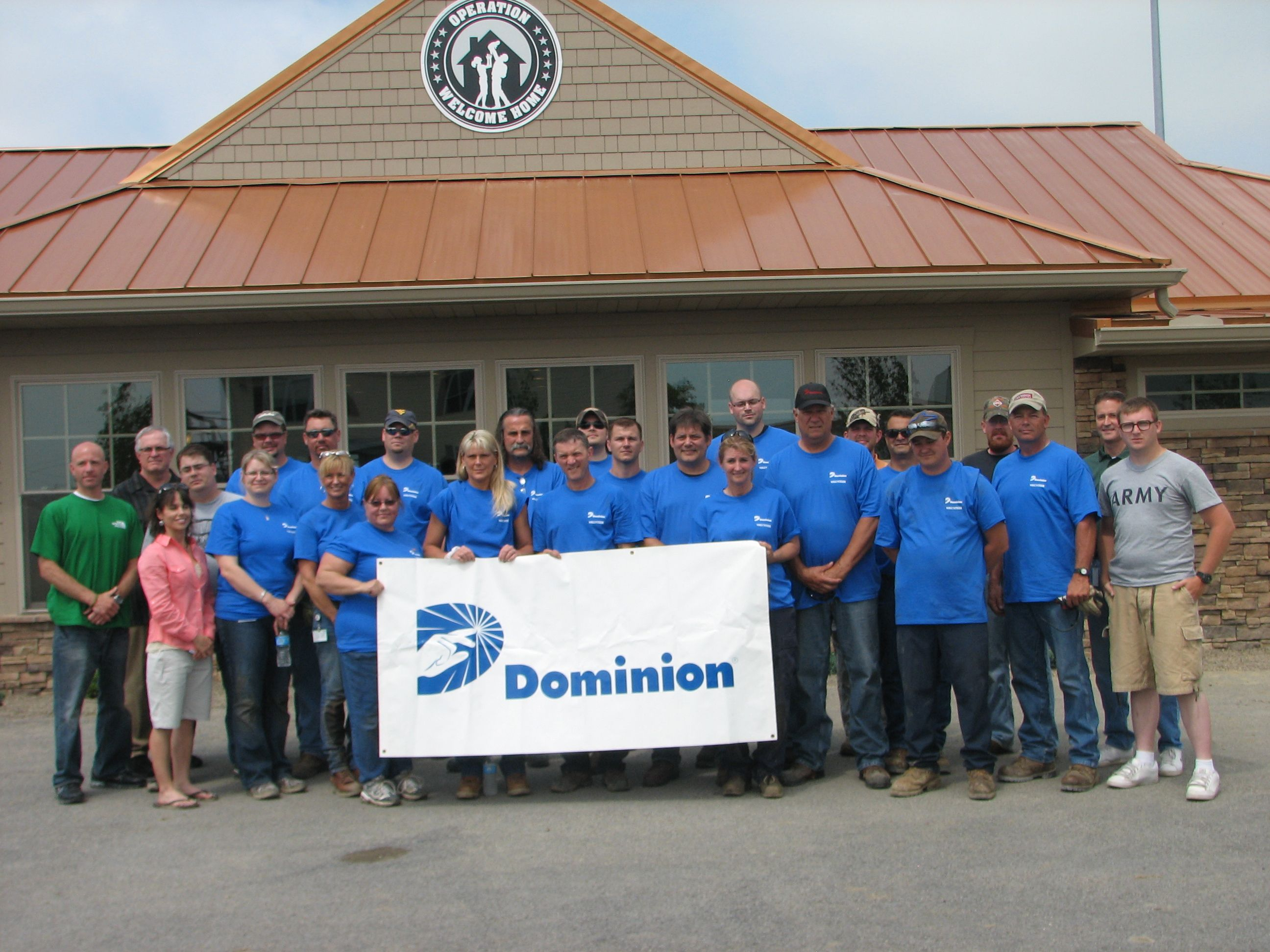 Dominion Power, VA Reps, and local supports got everything looking good!