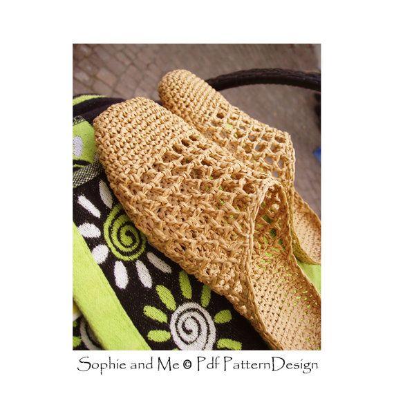 Patrón de deslizamiento en zapatillas de por PdfPatternDesign ...