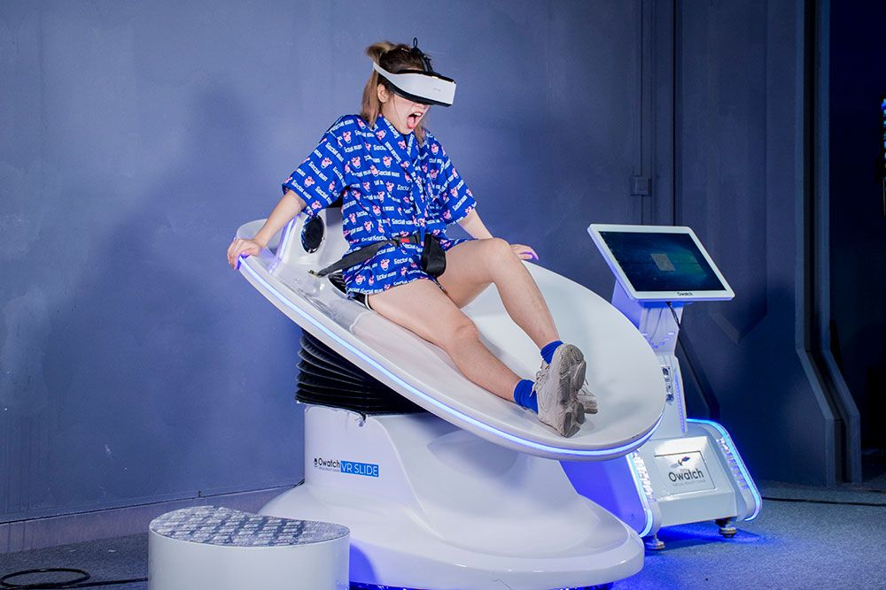 Vr Slide For Sale Vr Surf Factory Price Owatch Virtual Reality Design Virtual Reality Architecture Virtual Reality