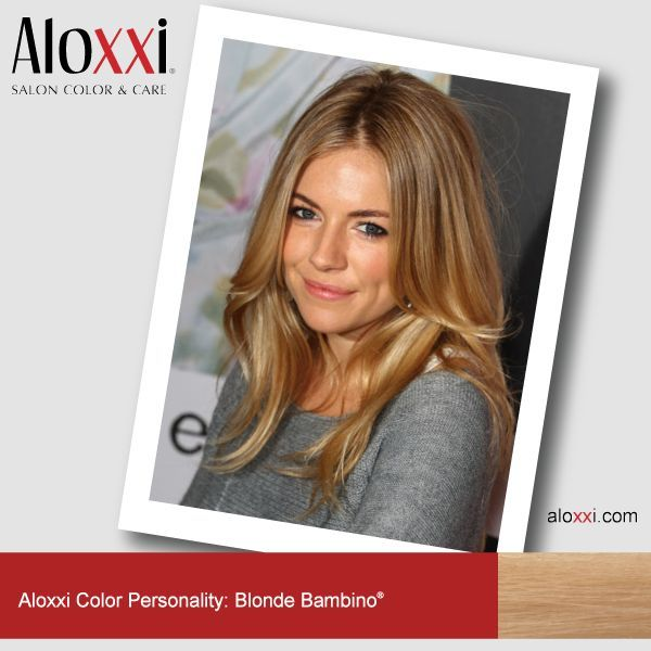 Aloxi Hair Color Blonde Sienna Miller Aloxxi Color Personality