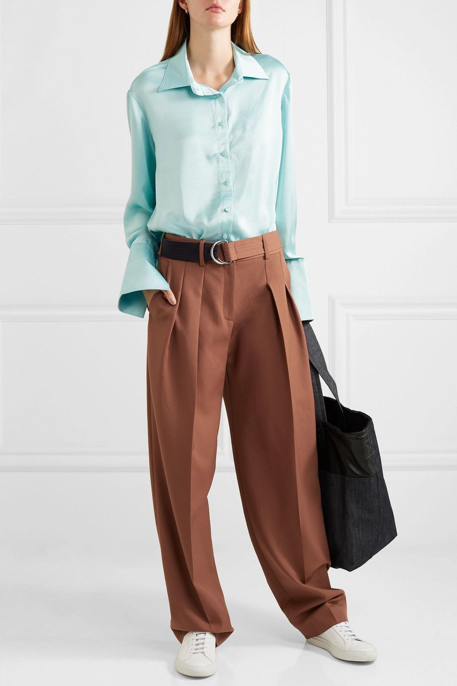 16532c7ede72c I pantaloni con cintura di default sono la soluzione moda pantaloni ...