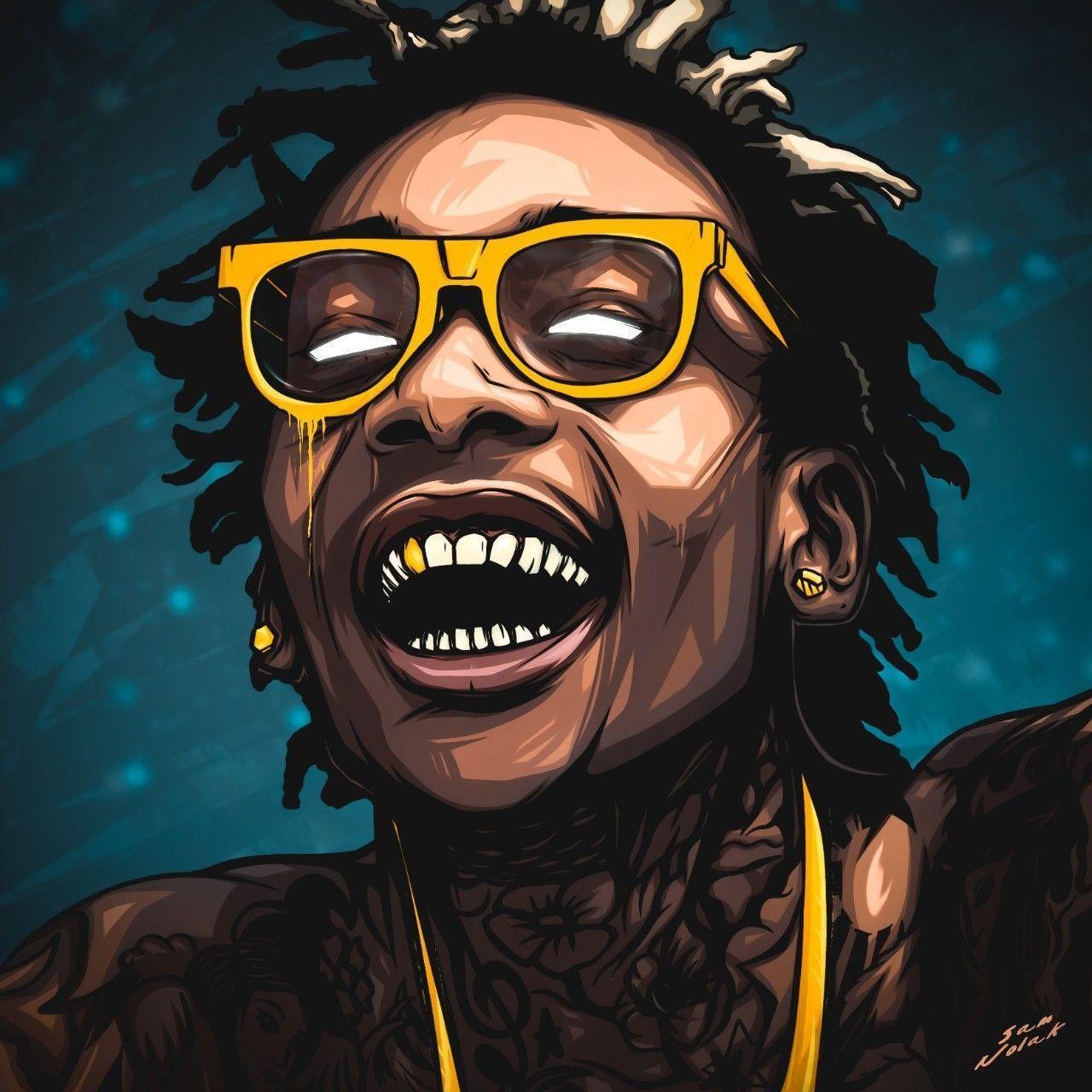 1280x1280 Sam Nolak Art Wiz Khalifa Digital Art Pinterest Wiz Khalifa Rapper Art The Wiz Wiz Khalifa