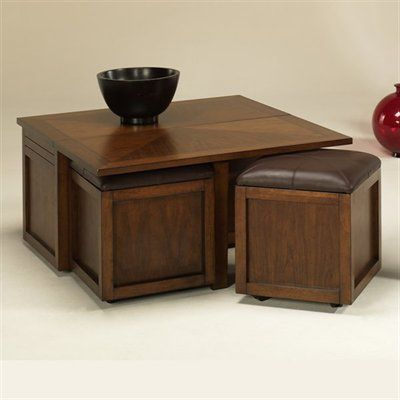 Hammary T2006504 00 Nuance Lift Top Square Cocktail Coffee Table