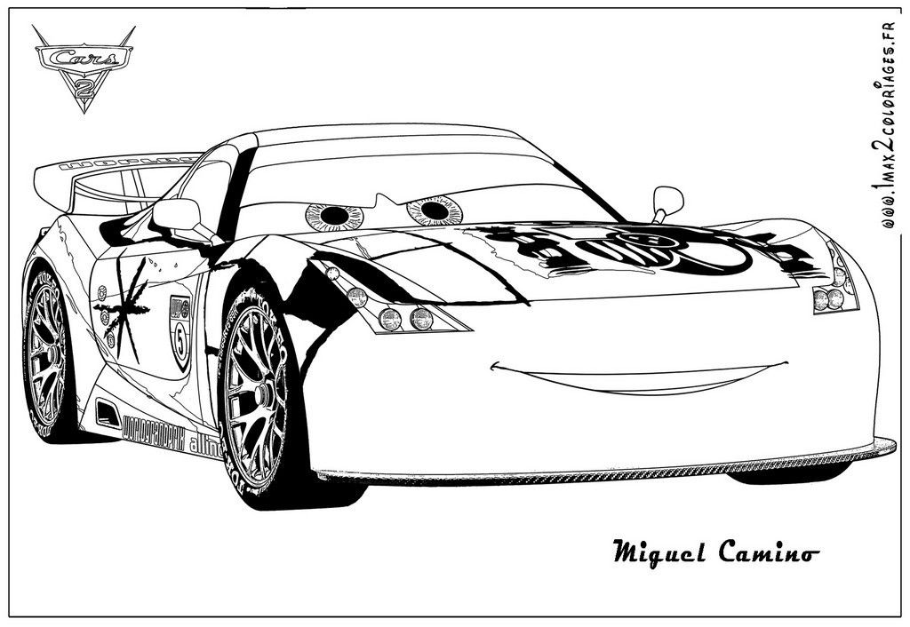 Coloriage De Cars 2 Cars Coloring Pages Coloring Pages Free Printable Coloring Pages