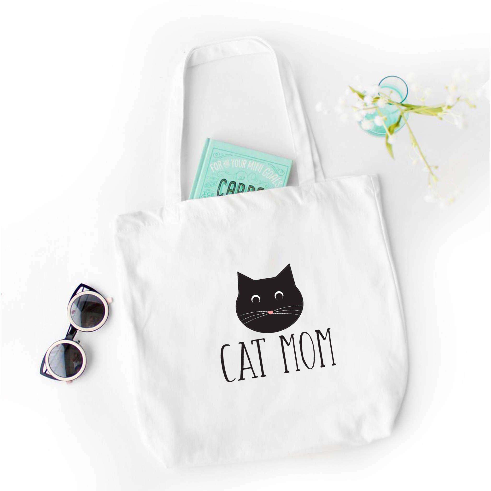 e37b49c7491 Cat Tote Bag, Cat's the way I like it, Funny Tote Bag, Tote