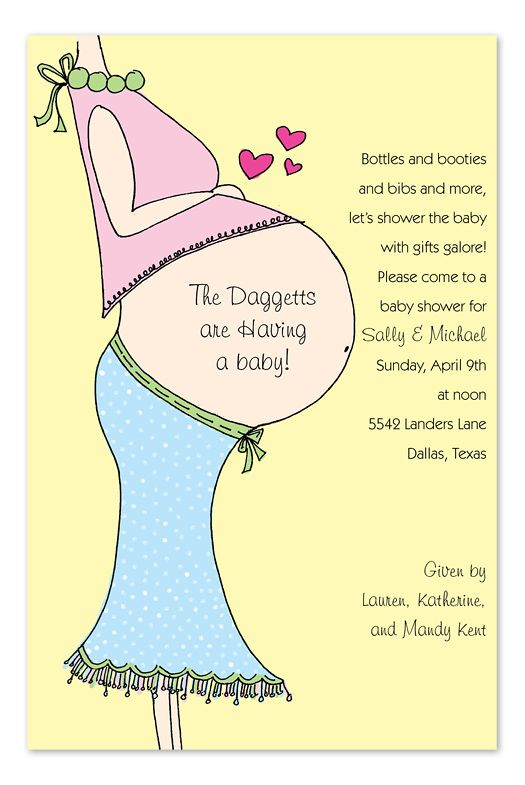 cutiebabes baby shower invitation wording ideas (07 - baby shower invitation templates word