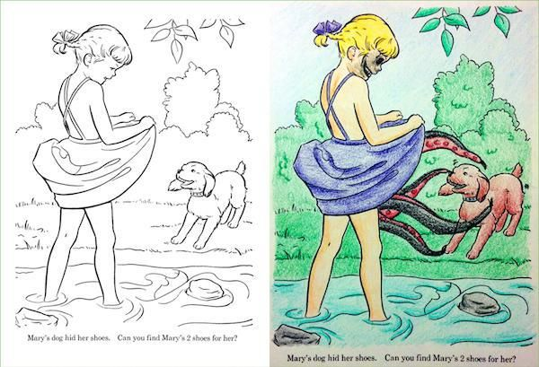 Coloring Books Gone Wrong