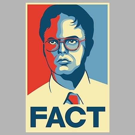 Image result for dwight schrute fact