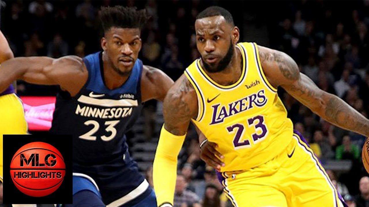 Los Angeles Lakers vs Minnesota Timberwolves Full Game ...