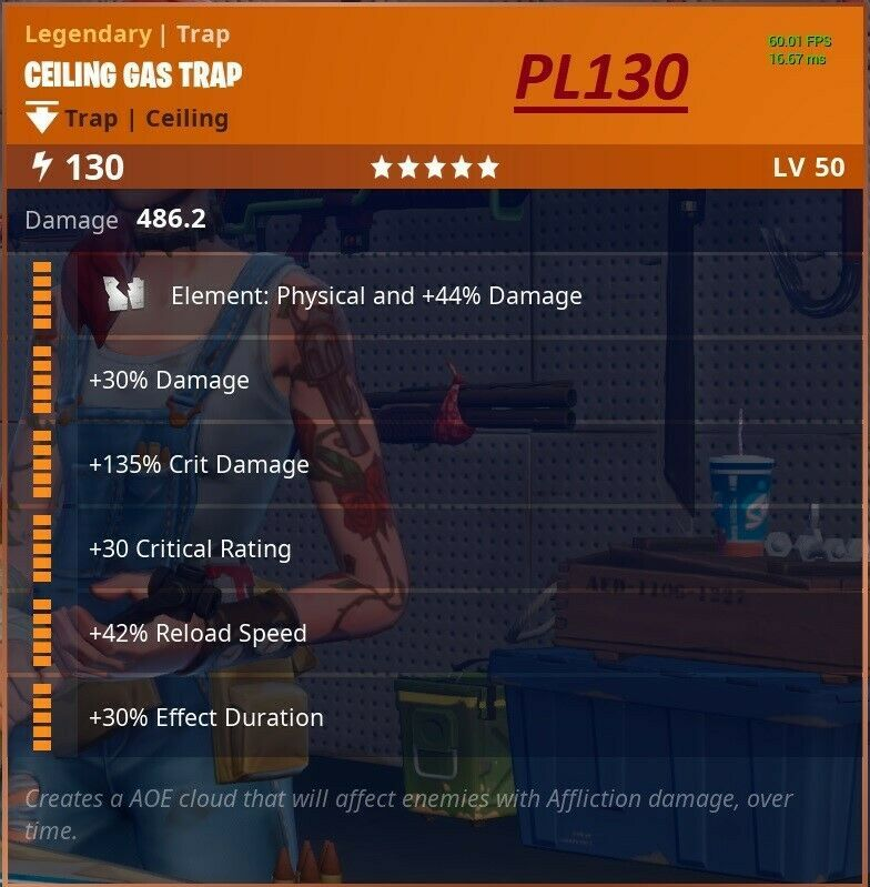 200x pl130 ceiling gas trap purchase fortnite save the world fortnite uk game - fortnite gas trap