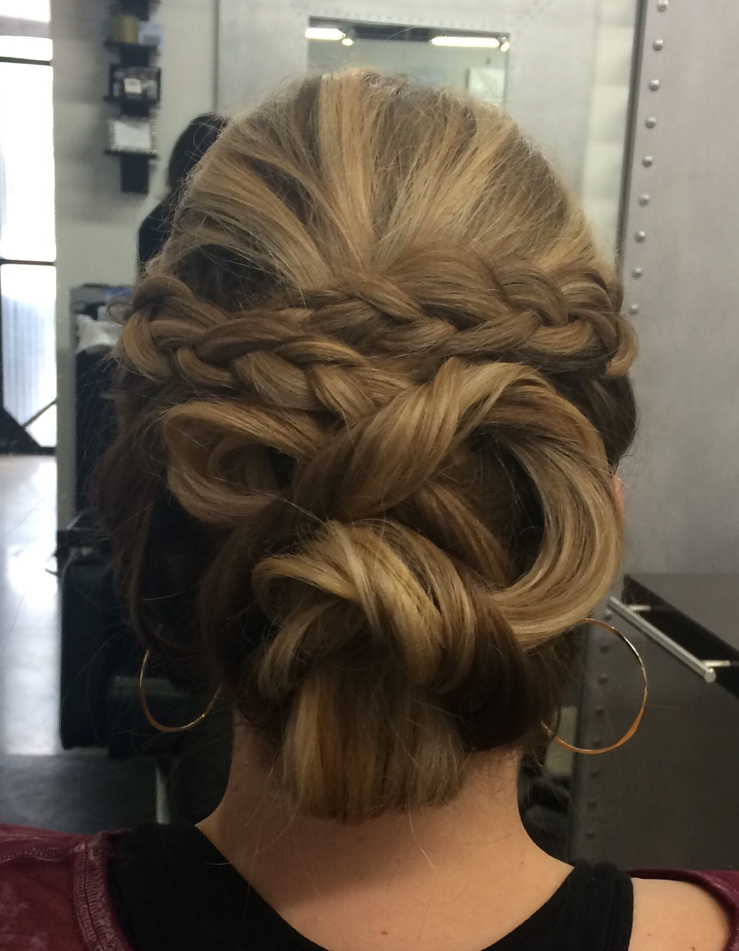 Braided updo hair by amanda pinterest updo