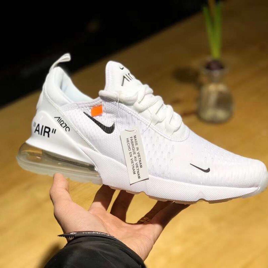 Virgil Abloh X Nike Air Max 270 聯乘鞋款搶先曝光 Hypebeast Hype Shoes White Nike Shoes Fresh Shoes