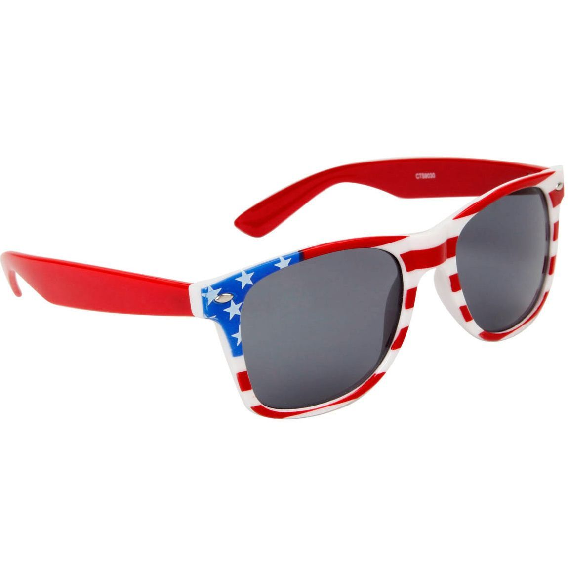 707cc5804d3 American Flag Sunglasses with Red Arms