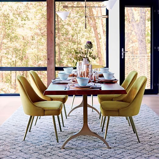 Cast Trestle Dining Table Westelm TablesDining Room