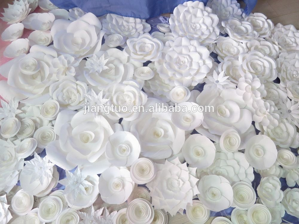 Cheap Wholesale Handcraft White Bulk Artificial Flowers Kiki Sweet