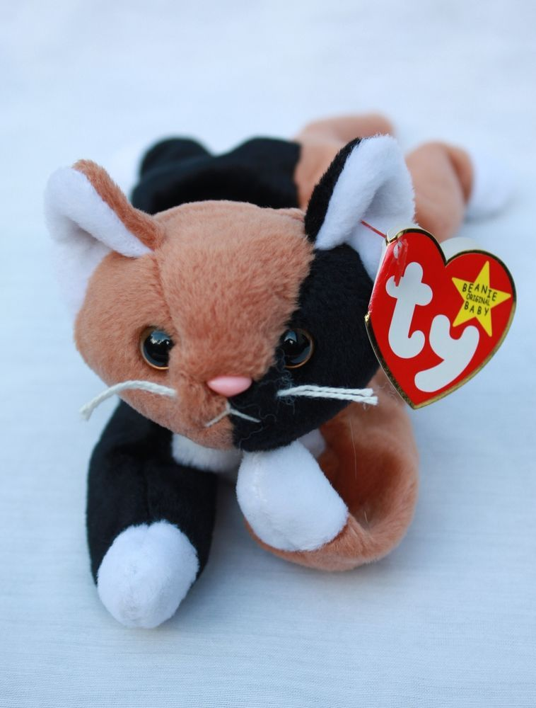 6fe8e96a93d Ty Beanie Baby Chip the Calico Cat