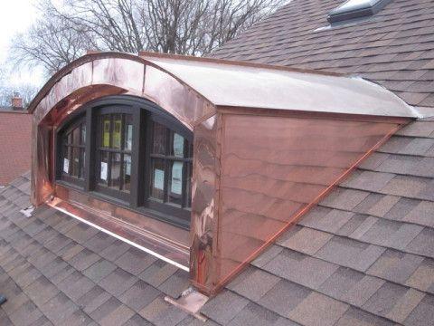 Dormers Barrrel Roofs Fascia Fasade Illinois Custom Copper Exterior Remodel House Exterior Dormers
