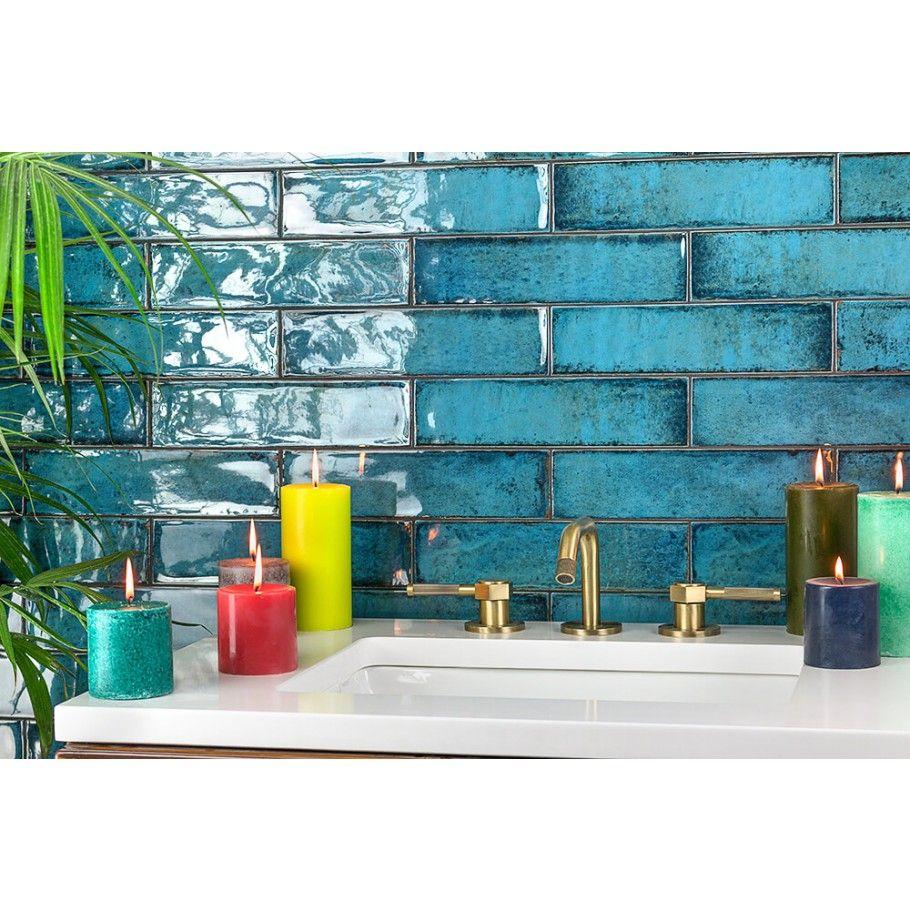 castle denim 3x12 ceramic tile | tilebar | home reno