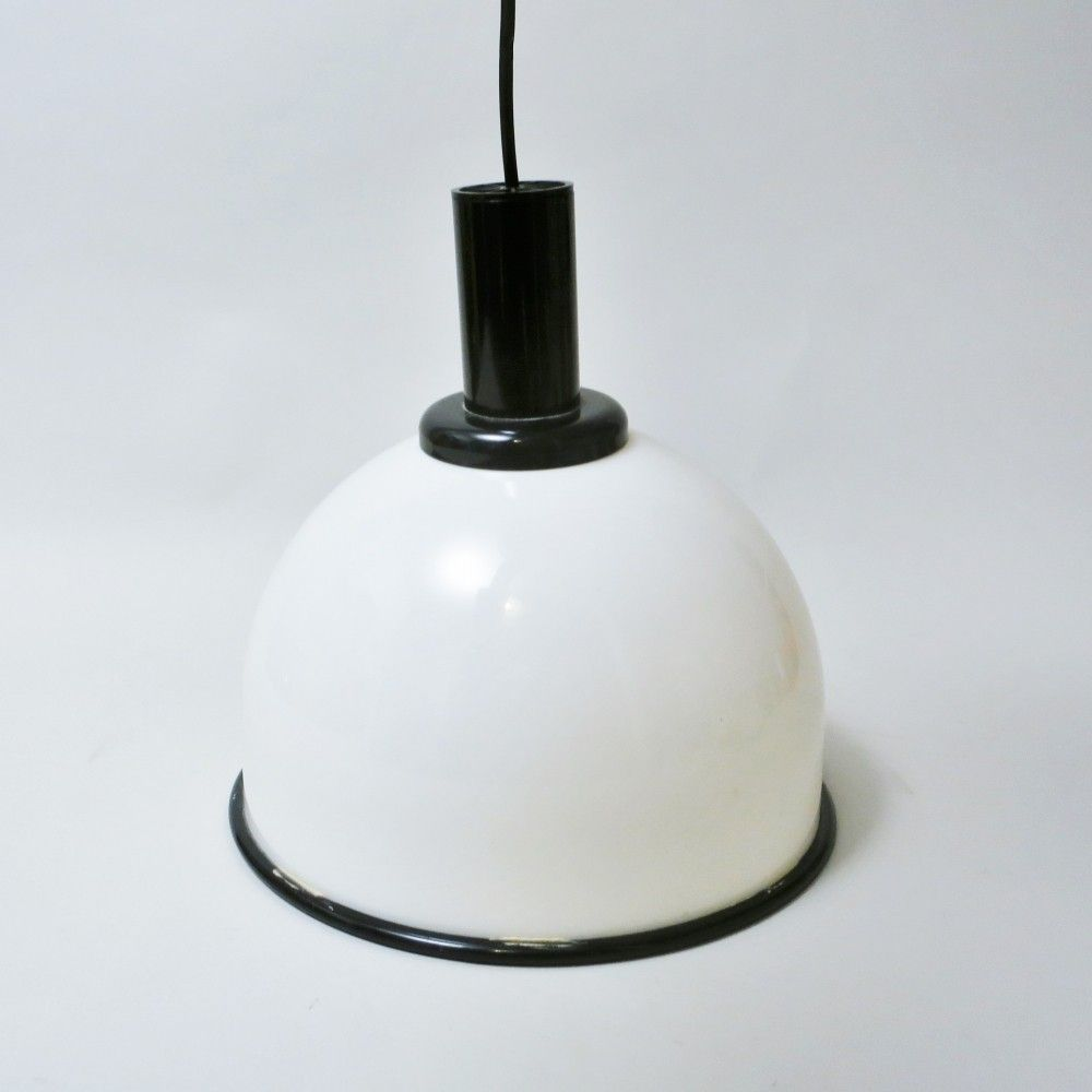 2 hanging lamps from the eighties by unknown designer for Lita France