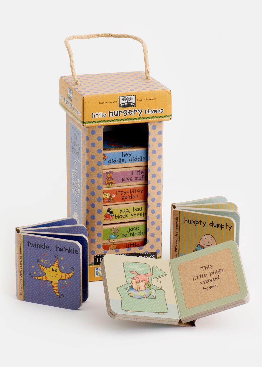 I remember having little books like this as a kid! Little Nursery Rhymes - Set of 10 | Rodale's