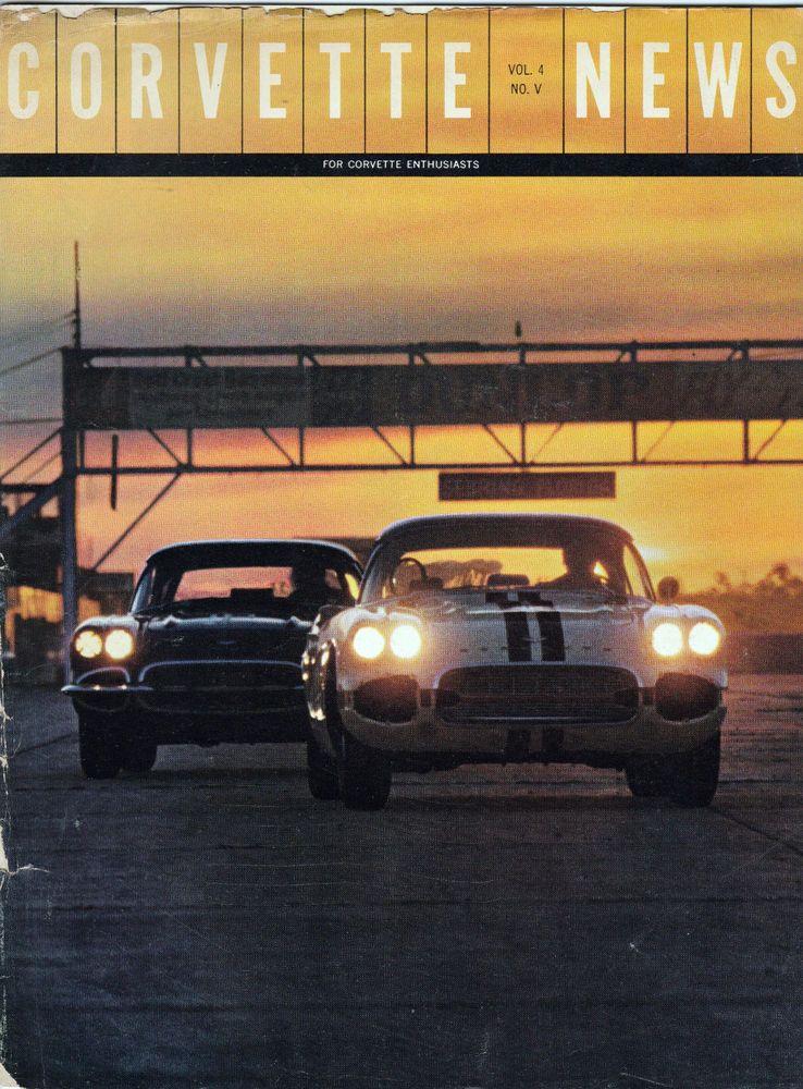 Corvette News Magazine 1961 Volume 4 Number V   Corvette ...