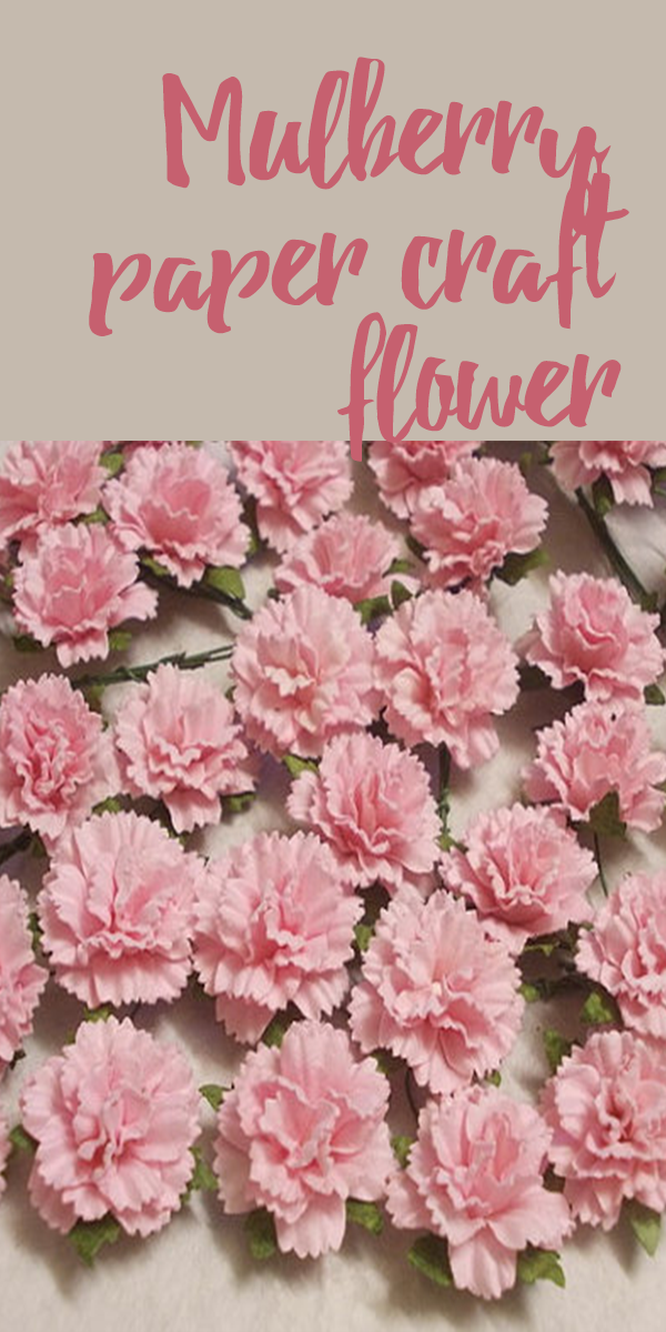 The Mulberry Paper Craft Flower These Are The Perfect Decoration For
