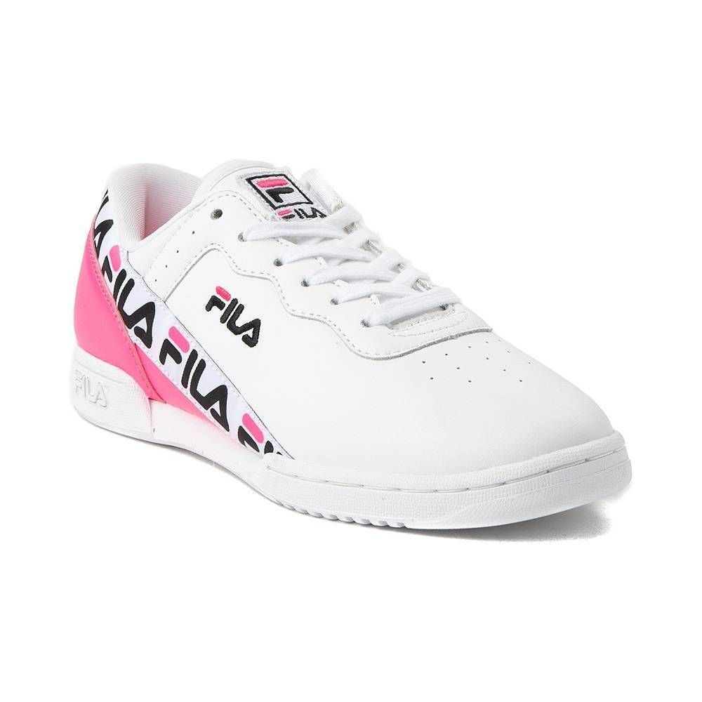8a9e90e2c14 NEW Womens Fila Original Fitness Tape Athletic Shoe White Pink Black  Trainers  fashion  clothing  shoes  accessories  womensshoes  athleticshoes  (ebay link)
