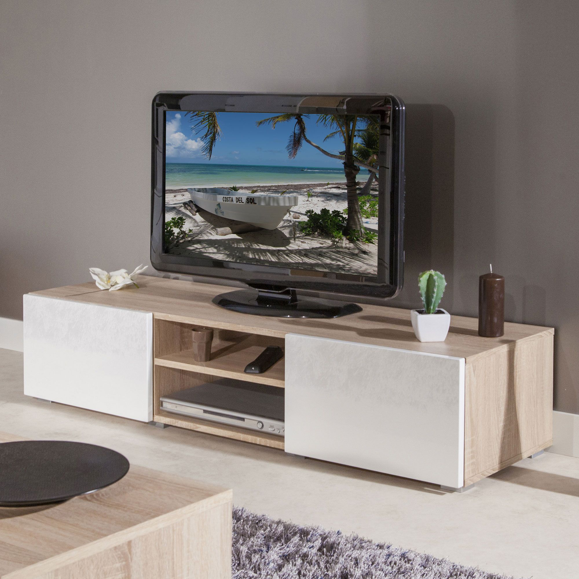 Meubles Tv In 2019 Interiors Living Room Entertainment Center Room