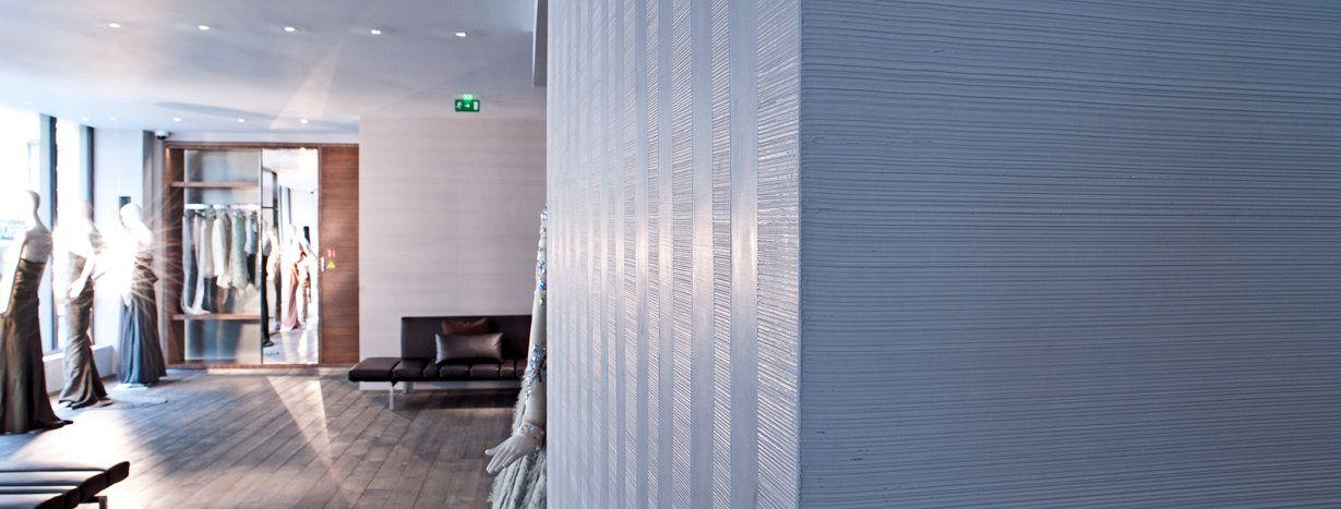 SIgnature Murale \u003d Décoration murale et pose enduit décoratif et